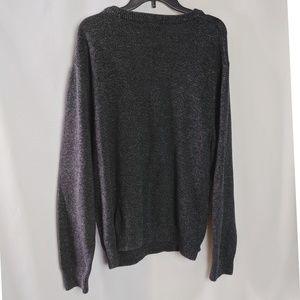 Chaps Sweaters - Chaps Ralph Lauren Dark Gray Knit Sweater Sz XL